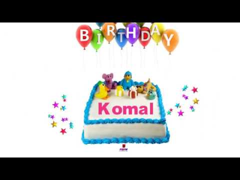Happy Birthday Komal Youtube