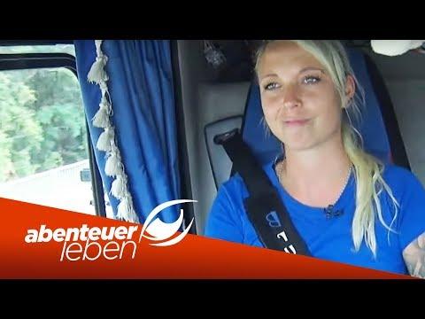 Intime Details einer Truckerin: Trucker Babe Anne Laufer im Interview | Abenteuer Leben | Kabel Eins