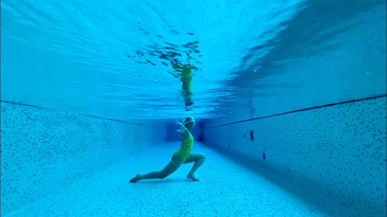 🌼I missed you, Stretching exercise to improve your Underwater Swimming