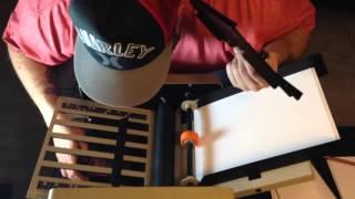 Martin Yale Auto Folder Cv 7 1501 Youtube