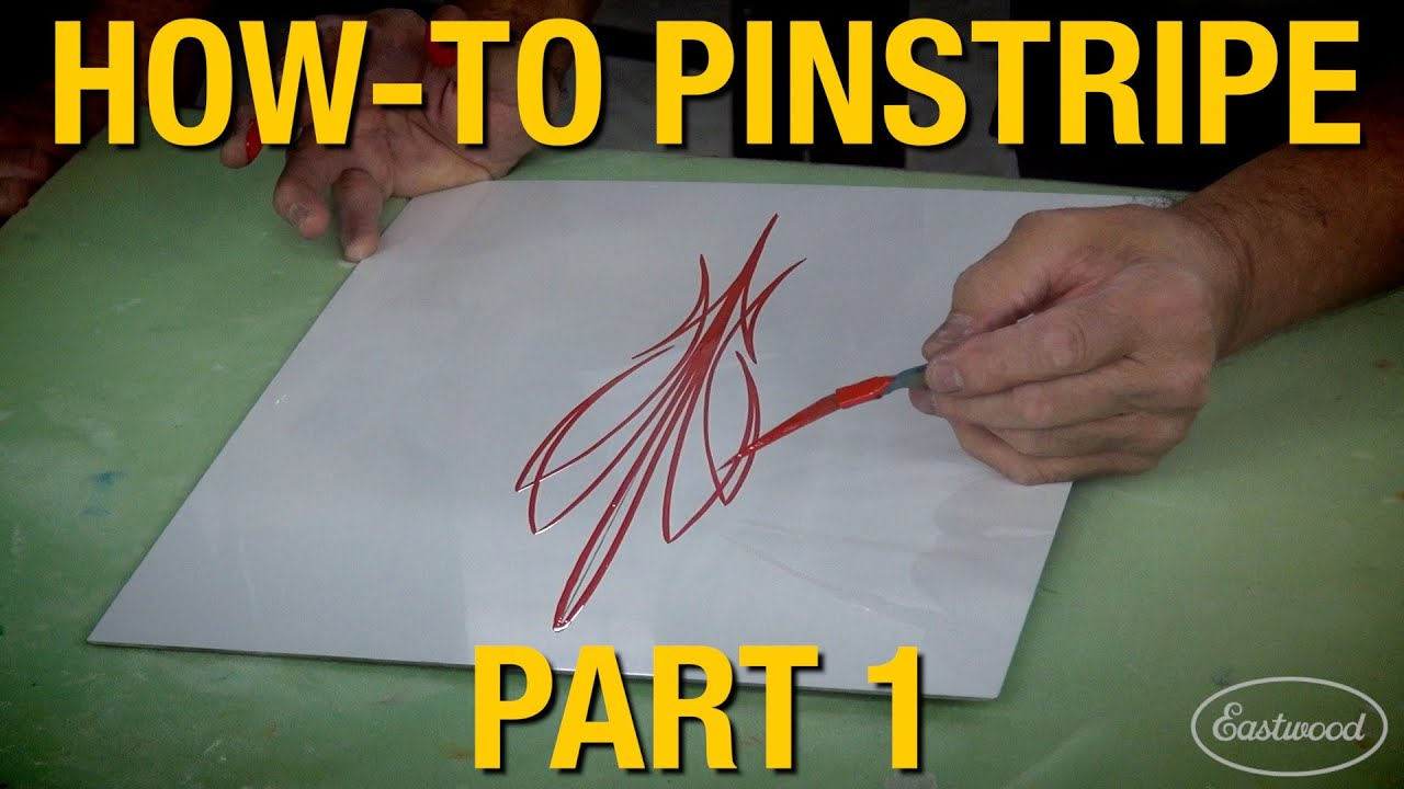 How To Pinstripe Custom Pinstripes With Rick Harris Kevin Tetz Pt 1 Of 3 Eastwood Youtube