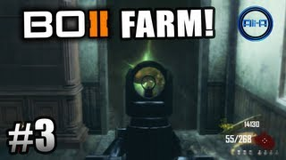 "Black Ops 2 ZOMBIES GAMEPLAY - ""FARM"" Survival Live w/ Ali-A - Part 3 - Call of Duty BO2"