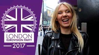 Kasia Moś - London Eurovision Party 2017 - Petit message