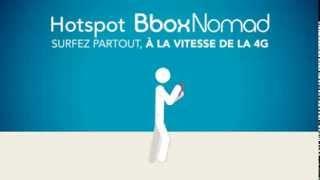 Surfez où que vous soyez à la vitesse de la 4G avec le hotspot Bbox Nomad !