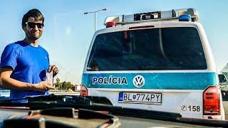 Placení dálničních poplatků na Slovensku | Roadtrip do Asie #1