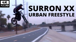 LIMITED SURRON LUDICROUS XX // URBAN FREESTYLE // JUMPS AND WHEELIES