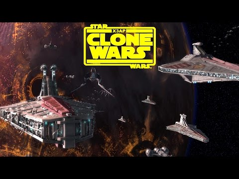 X3AP Star Wars Mod: The Clone Wars  - Episode 1 Begun The Clone War Has!