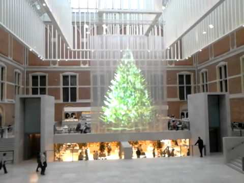 christmas tree hologram