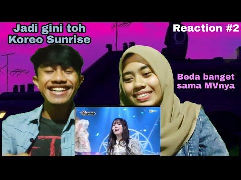 LIVE Performance GFRIEND (여자친구) _ Sunrise(해야) REACTION INDONESIA