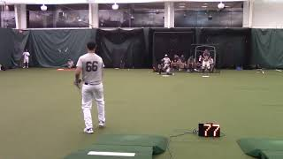 Zach kempfer class of 2021 Prep Baseball report showcase 6/27/18