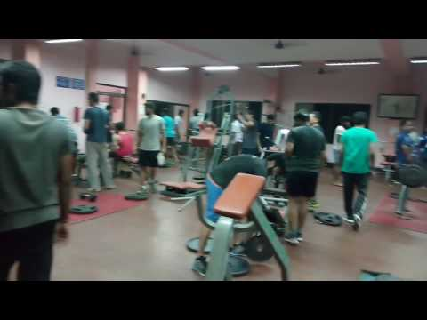 Gym at IIT madras