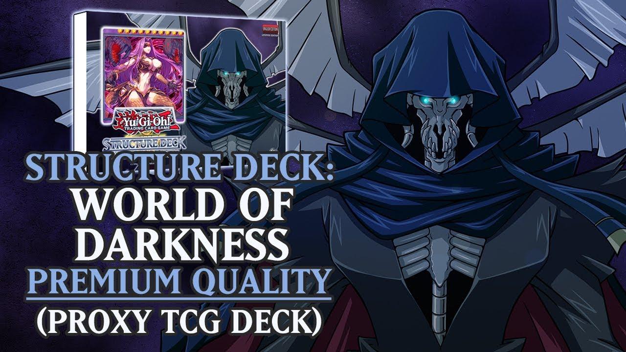 Structure Deck: Nightshroud - World of Darkness (Premium Quality) | Proxy /  Orica TCG Deck