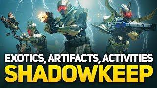 Destiny 2 Shadowkeep: Artifact Mods, Exotics, New Armor, Nightmare Hunts & Things You Missed
