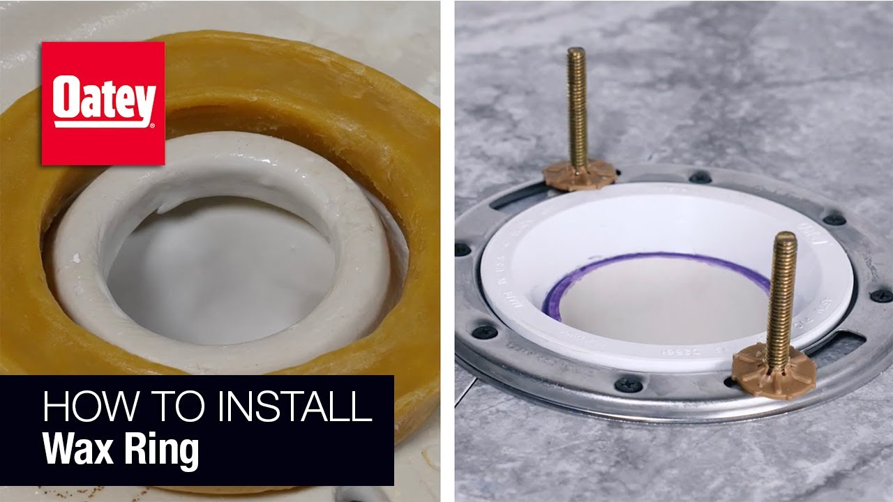 How To Install A Wax Ring You