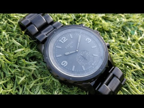 Fossil Hybrid Smartwatch Q Nate : Unboxing & Review