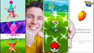MY FIRST SHINY OF 2020! + FIRST SOUVENIR & NEW EVENT (Pokémon GO)