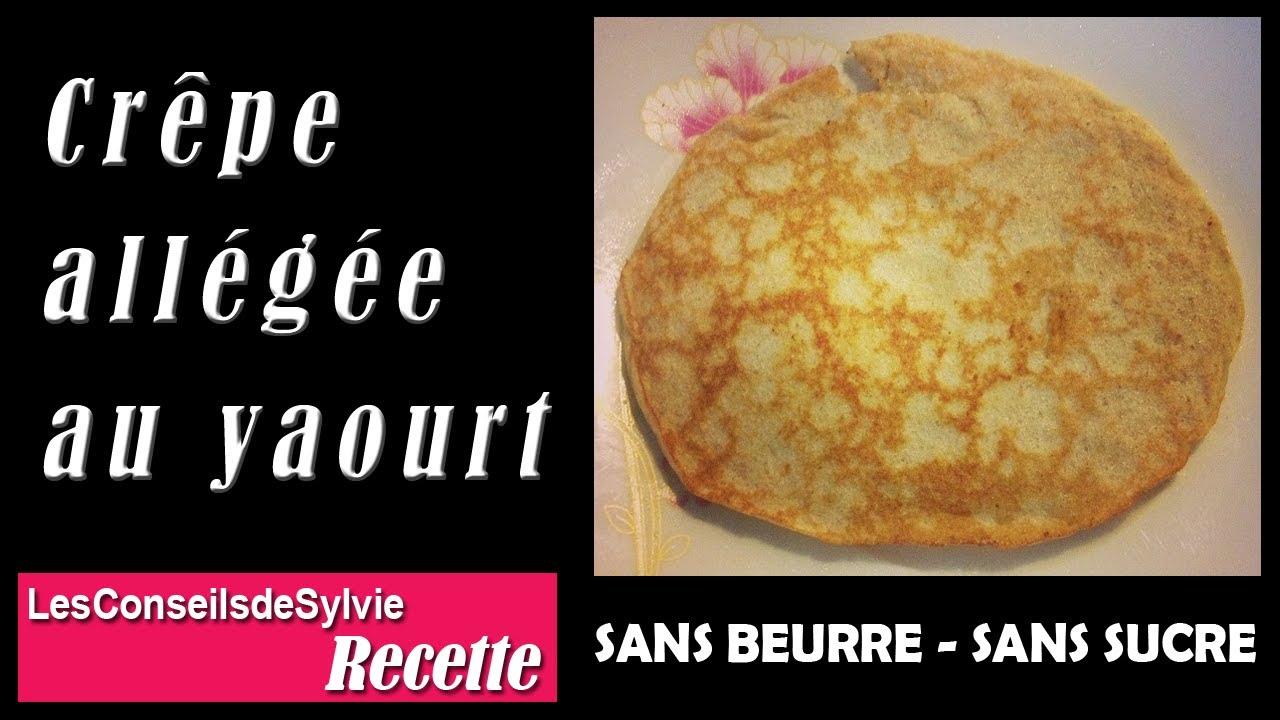 Ep 50 recette cr pe pancake all g e au yaourt sans beurre sans sucre - Recette crepe sans doseur ...