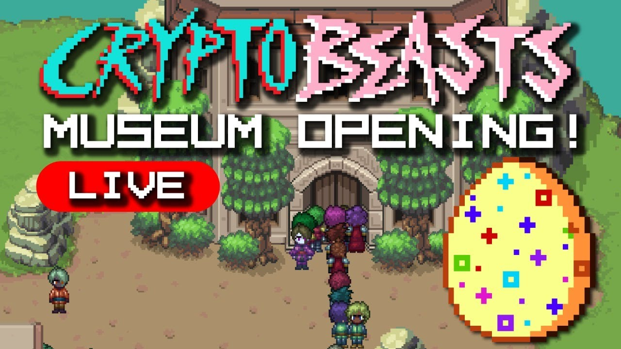 CRYPTO BEAST - NEW NFT GAME! MUSEUM OPENING PARTY!!