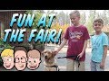 Last Summer Trip to the Fair Before Going Back to School! Family Friendly Vlogs 2018