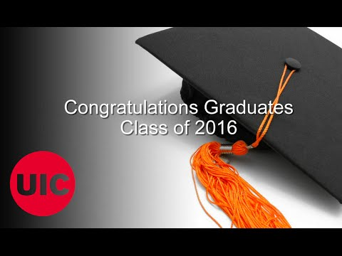 UIC College of Engineering Commencement 2016 Montage
