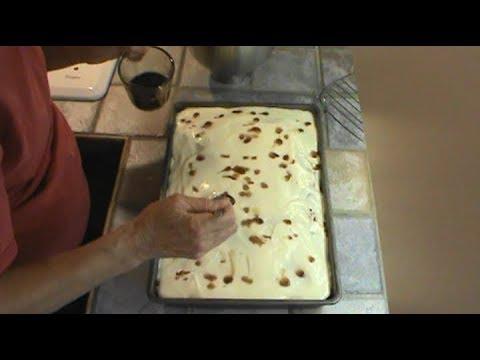 Enhanced Chocolate Sheet Cake