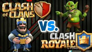 clash of clan vs. Clash Royale: Comparison of these 2 games