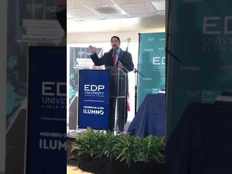 Alianza Estratégica EDP University of Puerto Rico e ILUMNO en el marco del 50 aniversario de EDP.