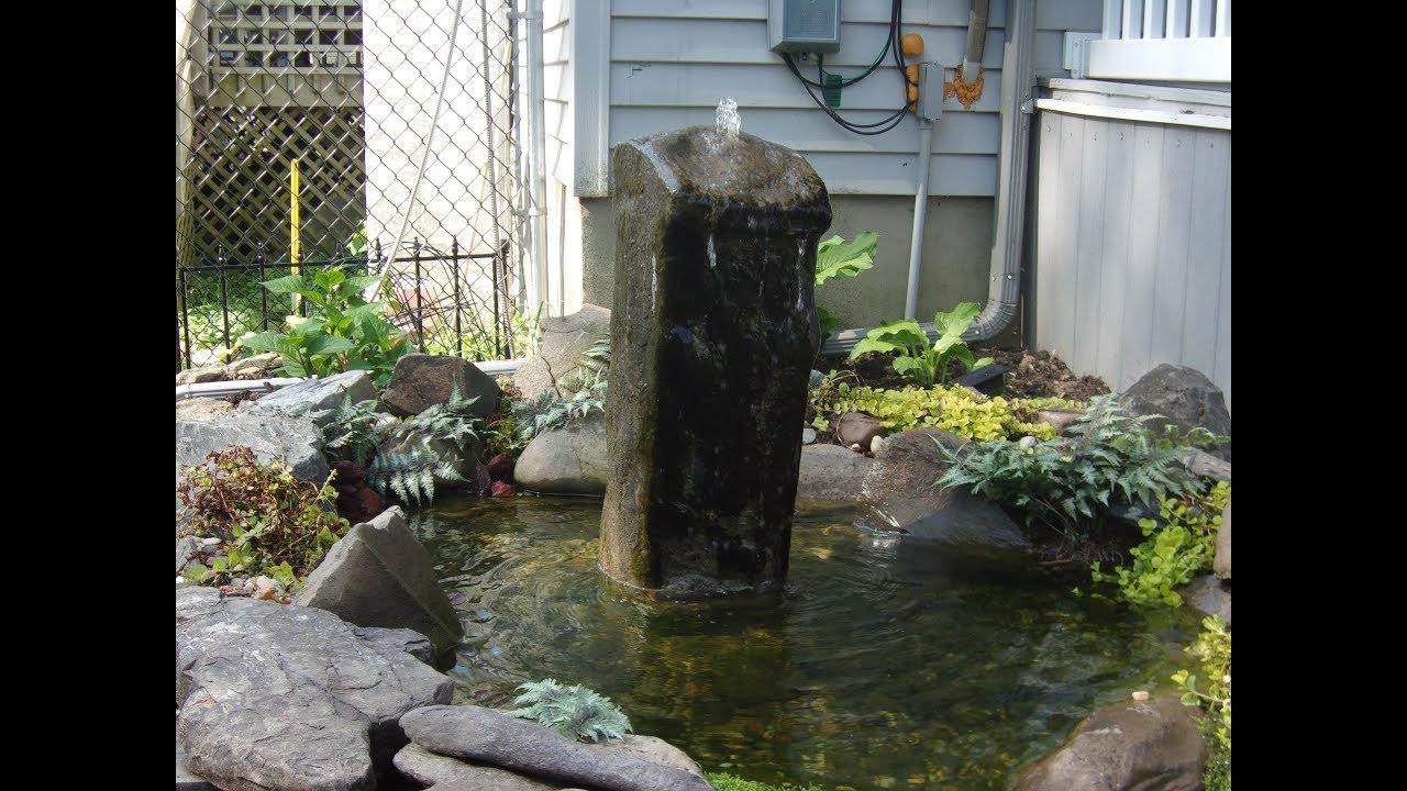 Diy Rock Fountain
