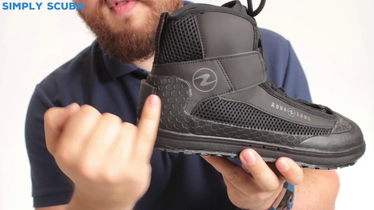 Aqua Lung Dive Boots Sporting Goods Fins, Footwear & Gloves