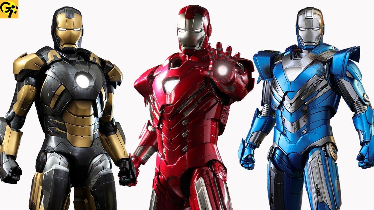 What Happened to Iron Man Armors Mark 51-84? - YouTube