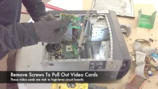 How To Scrap A Computer Tower - CPU, Motherboard, RAM, Hard Drive