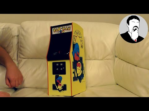 Quarter Size Pac-Man Arcade Cabinet | Ashens