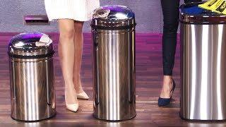 Stilvoll und berührungslos den Müll trennen! Mit Anne-Kathrin Kosch bei PEARL TV (April 2019) 4K UHD