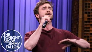 The Tonight Show Starring Jimmy Fallon: Daniel Radcliffe Raps Alphabet Aerobics thumbnail