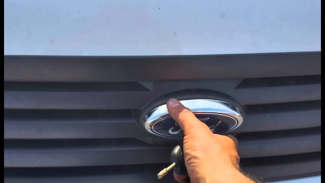 Front Windshield Tint >> Ford Transit Connect ( A Zone Auto Glass ) Hood - YouTube