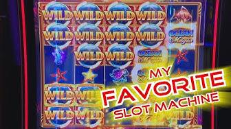 MY FAVORITE SLOT MACHINE! - BIG WIN on Ocean Magic Grand! - Slots #17 - Inside the Casino