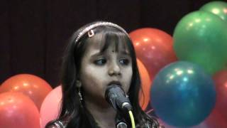Indian Cultural Association - Light Music - Rithika Sreekanth