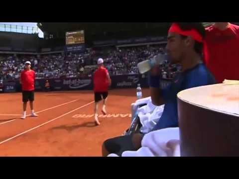 An Angry Fabio Fognini Vs Rafael Nadal - ATP Hamburg Final
