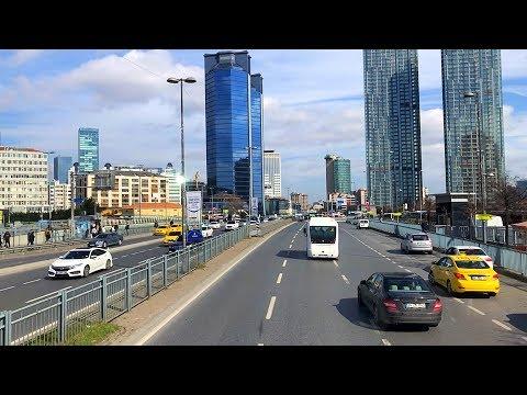 Bus Ride from Beşiktaş to Gaziosmanpaşa in Istanbul