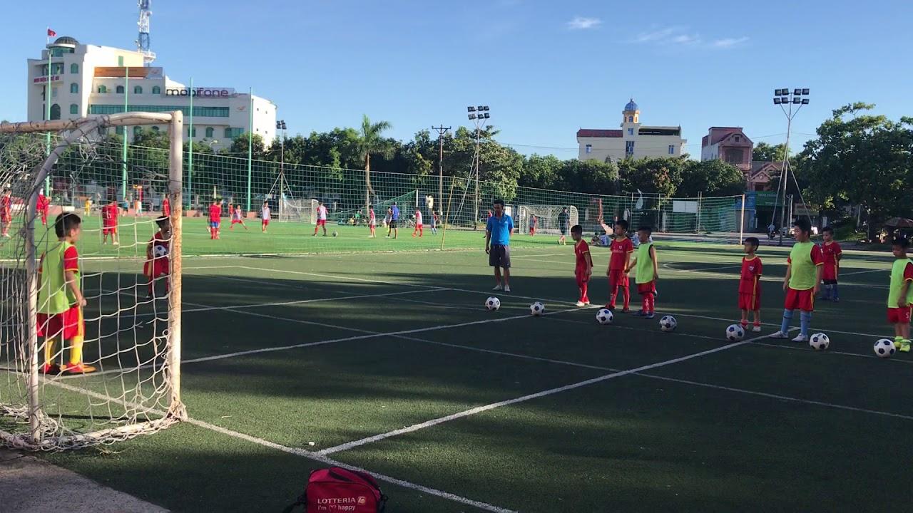 Dạy Bóng Đá Cộng Đồng : Buổi tập sút bóng