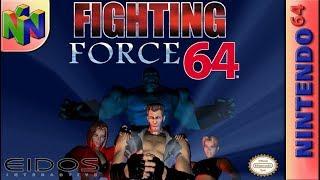 Longplay of Fighting Force (64)