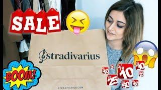 HAUL WYPRZEDAŻOWY || H&M STRADIVARIUS HOME&YOU