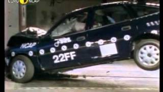 opel old cars crash test