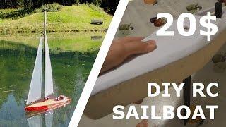 Diy Rc Sailboat For 20$! [part 3]