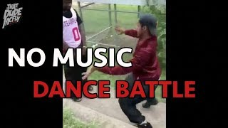 No Music Dance Battle