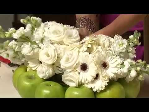 How To Make Fruit Flower Designs Simple Stylish Iris Rosin