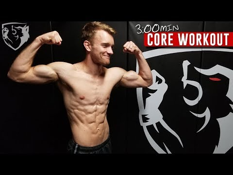 Fighter Core Workout: 3min Abs Routine