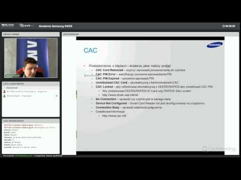 Akademia Samsung KNOX: Rozwiązywanie problemów technicznych