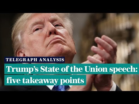 Trump's State of the Union: five takeaway points Mp3
