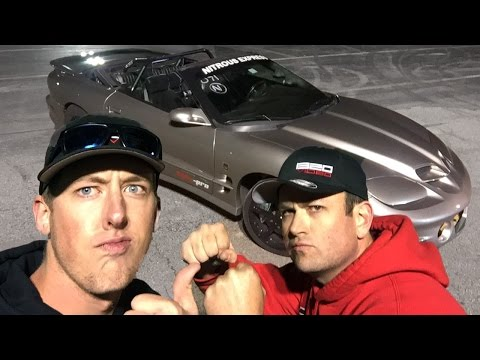 KYLE and CLEETUS Drive The 1000hp Sketchy Vert!